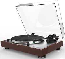 THORENS TD402 automatic DirectDrive walnut turntable/cartridge AUTHORIZED-DEALER