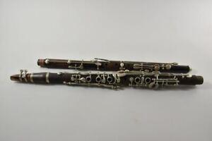 f84t23- 2x Klarinette, unvollständig