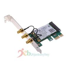 450Mbps WiFi Wireless PCI-Express x1 Adapter Desktop Card for Intel 5300 Ch