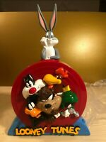 Vintage New LOONEY TUNES Acme Savings & Talking Bank Bugs Bunny & Friends w/Box