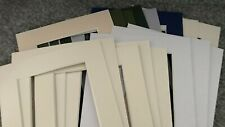 16 PICTURE FRAME MOUNTS 8X6 INCH OVERALL FOR 6X4 PHOTOGRAPH BEVEL CUT WHITE CORE