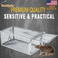 Mouse Trap Squirrel Rat Trap Rodent Trap Live Catch Cage, Easy to Set Up & Reuse