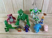 Disney Toy Story Figures Bundle x 10 - Buzz Woody Rex Hamm Pricklepants Trixie
