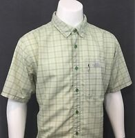 The North Face Green SHORT SLEEVE SHIRT Great For Outdoor Hiking Fishing XL
