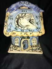 Peace Candle House Blue Sky 2001 Heather Goldminc May Peace Live In Your Home