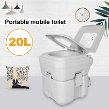 20L Portatile Toilette WC Chimico Gabinetto Water Mobile In Dura Resina PP ABS