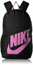 Nike Elemental Backpack Black Pink Girls Kids Unisex