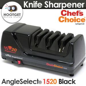 Chef's Choice 1520 AngleSelect Diamond Hone Electric Knife Sharpener Black AU