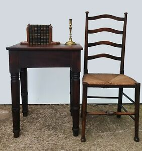 Antique Book Press Table