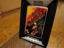 BOB MARLEY RASTAMAN VIBRATION TOUR 1976 ZIPPO LIGHTER MINT IN BOX 2010