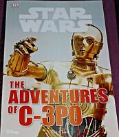 STAR WARS - THE ADVENTURES OF C-3PO -32 PAGE BOOK- (BRAND NEW)