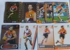 AFL Select & Teamcoach cards x 9 Callan Ward - G.W.S. inc Gold,Silver,#SP