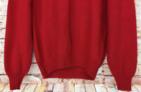 Women's Vintage Wentworth Wool Blend Knit Sweater Pullover Sz L Made in Italy