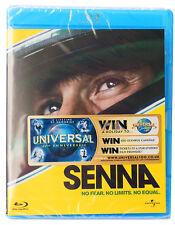 SENNA No Fear, No limits, No Equal * Blu-ray * NEW & SEALED