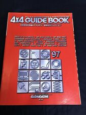JDM 4X4 MAGAZINE '97 Guide Book SUV Offroad Parts & Accessories Catalog Bible