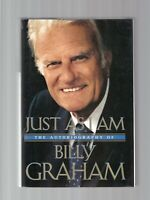 Just As I Am : Autobiography of Billy Graham 1997 1st Printing Hardcover Dj FINE