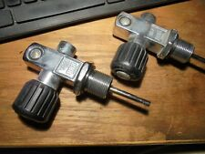2-Scuba Tank Valves With O-Rings # Sq-7 Bbb Japan Made