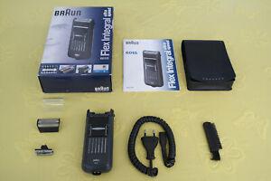 Braun Netz Rasierer Flex Integral ultra speed 6015 Typ 5707