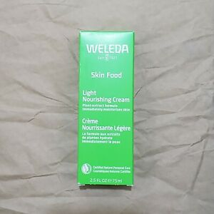 Weleda Skin Food Light Nourishing Cream FULL SIZE 2.5oz Exp 10/2022