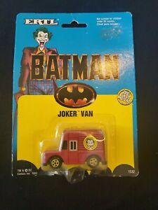 Joker Van by Ertl - Batman 1989 mint on sealed card