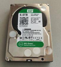 """Western Digital Green 6TB 5400RPM 3.5"""" SATA Desktop Hard Drive HDD WD60EZRX WD"""