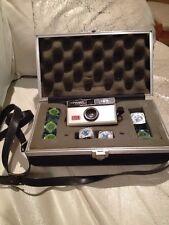Vintage Kodak Instamatic 124 Camera W/Case & Flashcube Lot