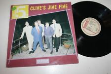 "CLIVE'S JIVE FIVE Clive's Jive Five 12"" Vinyl LP NM-- ROCKHOUSE LPL 8906 ROCK N'"
