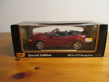 ( GOR ) 1:18 Maisto Special Edition 2003 Ford SVT MUSTANG COBRA NUOVO conf.
