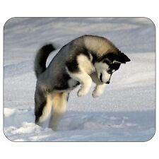 Snow Husky Mousepad Mouse Pad Mat