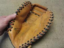 Vintage Leather Sportsmaster Baseball Mitt Glove > Old Antique Gloves 8102