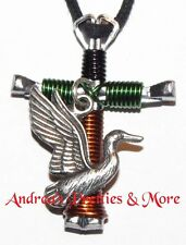 Disciple's Cross Horseshoe Nail Necklace Flying Duck Duck Dynasty Duck Commander