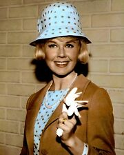 "DORIS DAY THE THRILL OF IT ALL 1963 ACTRESS 8X10"" HAND COLOR TINTED PHOTOGRAPH"
