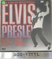 elvis presley~  king of rock n roll Vinyl Lp Record VLP4537 Dutch EX+ / VG