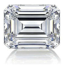 12ct Emerald Cut Vintage Russian Quality C Z Imitation Moissanite Simulant 16x12