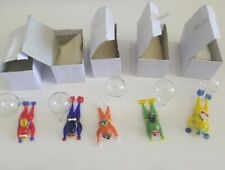 New listing Lot Of 5 Assorted Hand Blowing Glass Miniature Floating Scuba Divers New