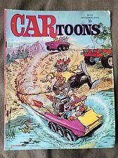 Oct 1970 Cartoons Hot Rod Auto Racing Drag Race Comic Book No. 55 Car Toons 70