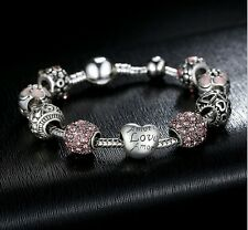 Bettelarmband 925 Sterlingsilber Charm Charms Love Liebe Armband Element Beads