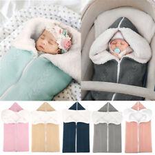 Baby Winter Einschlagdecke Wickeldecke Schlafsack Decke für Kinderwagen Bett