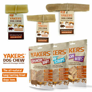 Yakers Yak Dog Chew,Crunchy Bars Bites Strips, Puppy,100% Natural Himalayan Milk