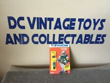 Vintage 1986 StarCom Coleco SGT. ED KRAMER Case Fresh Unpunched Look!