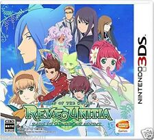 Used TALES OF THE WOLRD REVE UNITIA NINTENDO 3DS JAPANESE  IMPORT