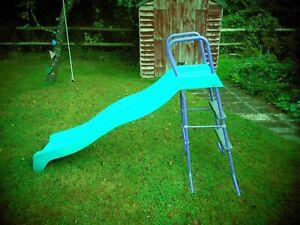Childs Blue 6 Foot Garden Slide