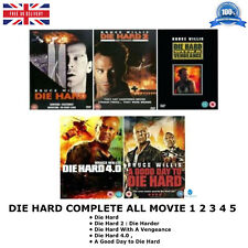 DIE HARD : SERIES 1-5 COMPLETE COLLECTION PART 1 2 3 4 5 ALL MOVIE FILM NEW DVD