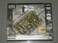 UNIMAX FORCES OF VALOR 1/32 80077 GERMAN KING TIGER (PORSCHE TURRET) FRANCE 1944
