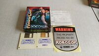 Rare Atari St Big Box Game RoboCop Ocean Complete W/ Sticker & Poster