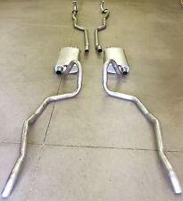 1964-1965 GTO, LEMANS & TEMPEST RAM AIR DUAL EXHAUST SYSTEM, ALUMINIZED