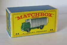Repro Box Matchbox 1:75 Nr.44 Refrigerator Truck