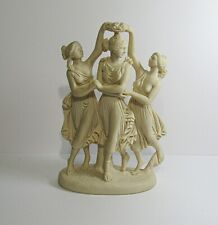 The Three Graces Muses Daughters of Zeus ☆ by E P Paul Resin Figurine Sculpture