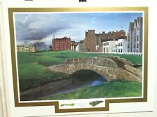 """ELIZABETH PEPER """"THE DREAM COURSE"""" LIMITED EDITION HAND SIGNED LITHOGRAPH C.O.A."""