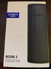 UE Ultimate Ears Boom 3 Portable Speaker - Black - NEW